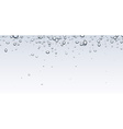 Banner with bubbles vector image