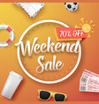 sale poster bright sale flyer template vector image