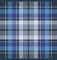 blue check fabric texture diagonal seamless vector image