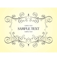vector decorative design element vector image vector image