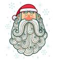 Santa Portrait vector image vector image