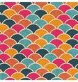 Retro seamless geometric pattern vector image