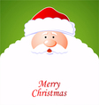 Happy Santa Claus vector image vector image