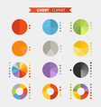 Graphic business ratings and charts vector image