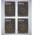Constellation brochure vector image