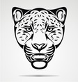 Jaguar Head vector image