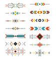 Aztec Borders vector image