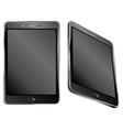 black digital tablet vector image