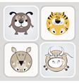 Cartoon pets vector image