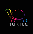 images of turtle design vector image