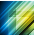 Colourful hi-tech background vector image vector image