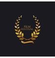 Film Festival Award Sign vector image