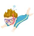 Scuba Diver vector image