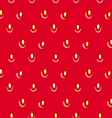 Seamless strawberry texture vector image