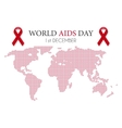world aids day vector image