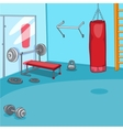 Gym Room vector image