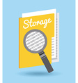 storage device vector image