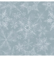 Snowflake Seamless Pattern vector image vector image