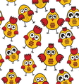 Chicken patter vector image