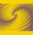 3d abstract spiral modern background wallpaper vector image