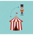 amusement park design vector image