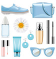 fashion accessories set 3 vector image