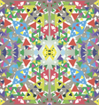 Mosaic of triangles vector image