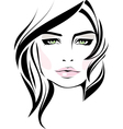 Beautiful makeup icon vector image vector image