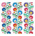 Seamless traditional folk polish pattern vector image