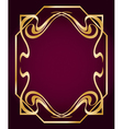Art Deco Style Border vector image vector image