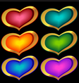 Heart Icons vector image