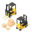Lift Truck Isometric vector image
