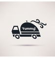 Logo Design for meal delivery service vector image