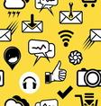mobilni social media3 vector image
