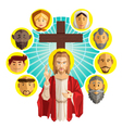 All Saints Day vector image vector image
