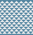 abstract pattern triangle blue and gray dots vector image