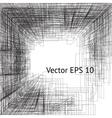 graphic square presentation design vector image