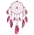 Native American Indian Talisman Dream Catcher vector image vector image