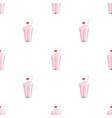 milkshake with cherry on the top icon in cartoon vector image