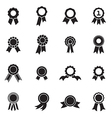 Rosette icons vector image