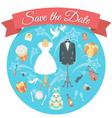 Wedding Chores Concept vector image