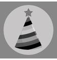 Birthday hat icon vector image