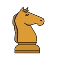 chess game piece icon vector image
