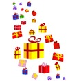 Presents and Bows vector image