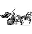 Valkyrie Chariot vector image vector image