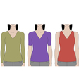 Woman Torsos vector image