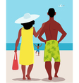 Family vacation vector image