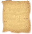 Old Blank Paper Sheet vector image