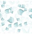Diamonds seamless pattern vector image vector image
