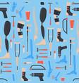 cartoon orthopedic elements background pattern vector image